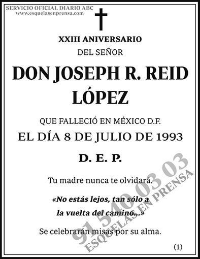 Joseph R. Reid López